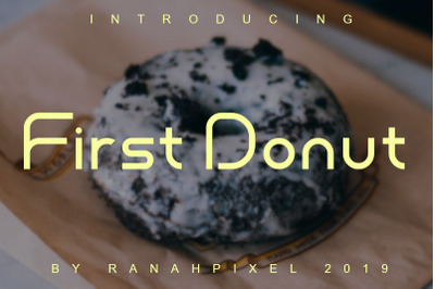 First Donut