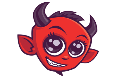 Cute Cartoon Devil