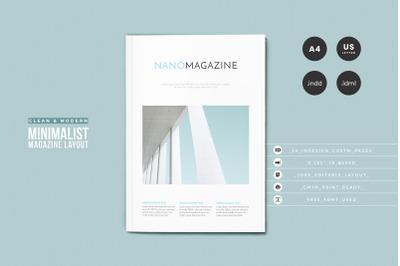 InDesign NANO Magazine Layout