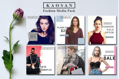 Fashion Media Instagram Banner