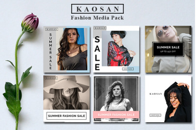 Fashion Media Instagram Banner Vol 3