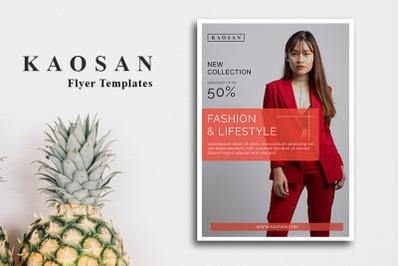 Fashion Flyer Template Vol 3