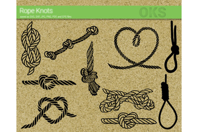 rope knot svg bundle cut file for cricut