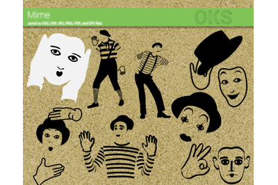 mime svg bundle vector cut file for cricut