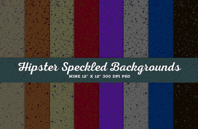 Hipster Speckles Background