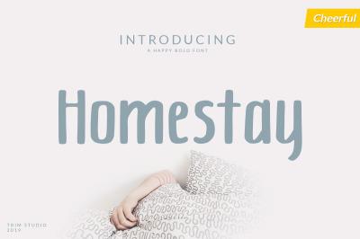Homestay - Charm Font