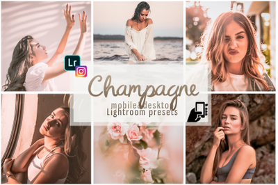 Champagne presets, mobile dng presets pc