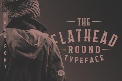 Flathead Round Typeface
