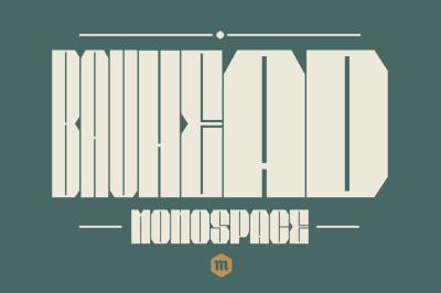 Bauhead Typeface