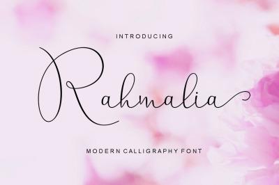 Rahmalia Script