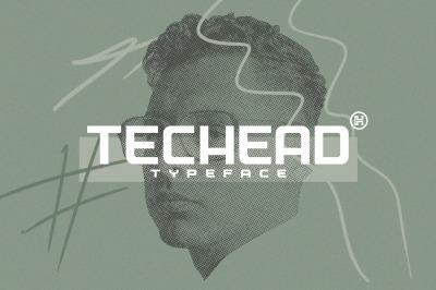 Techead Typeface