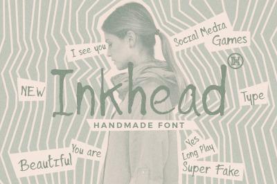Inkhead Typeface