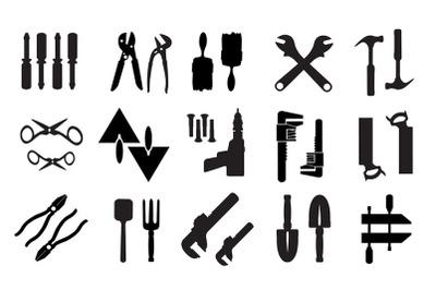 Set of retro building tools