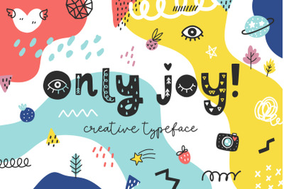 Only Joy typeface - Summer font