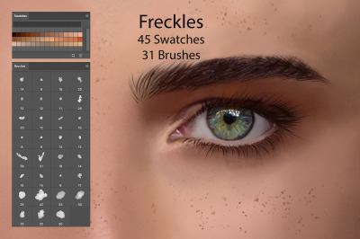 Freckles Swatches