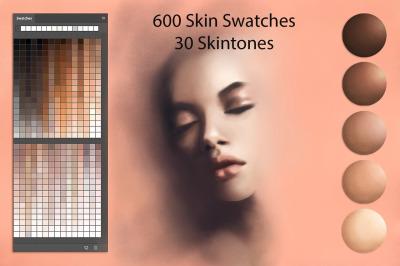 Skin Swatches