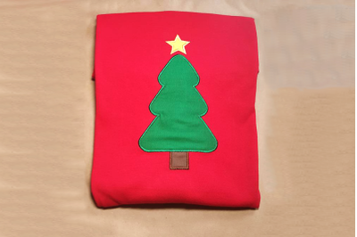 Christmas Tree | Applique Embroidery