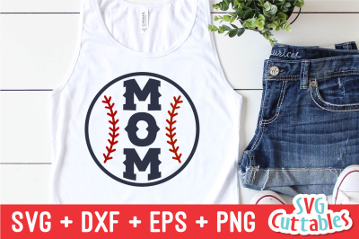 Baseball Mom | Softball Mom | SVG Cut File