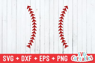 Baseball Stitches | SVG Cut File