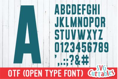 JP Basic Tee Font | Athletic Font | Sans Serif Font