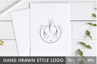 Premade Floral Logo - Little Things That Matter