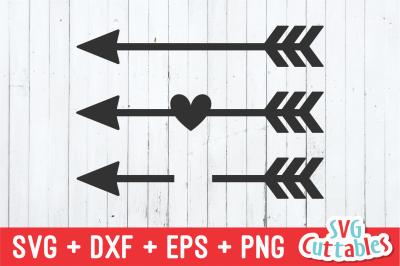 Arrows Set of 3 | SVG Cut File