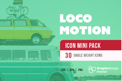 Locomotion (30)-Icon Mini Pak by GDM