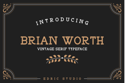 BRIAN WORTH