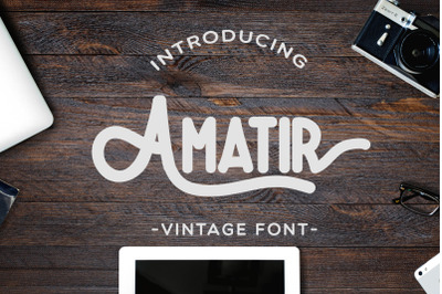 Amatir Font Extra Illustration
