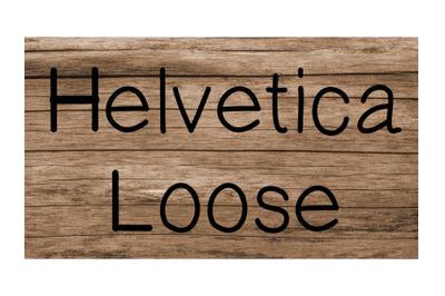 Helvetica Loose Font