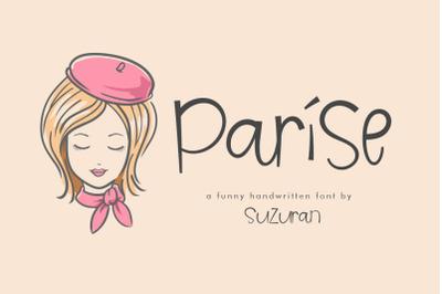 Parise Font