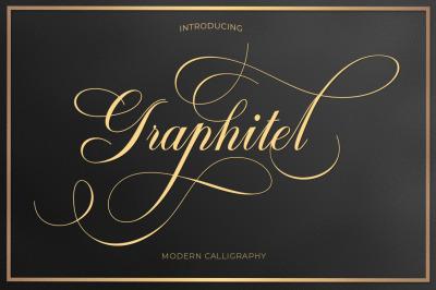 Graphitel Script + Ornament