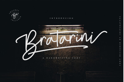 Bratarini - A Handwriting Font