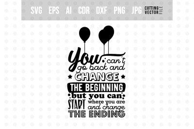 Change the Ending - Typography Design