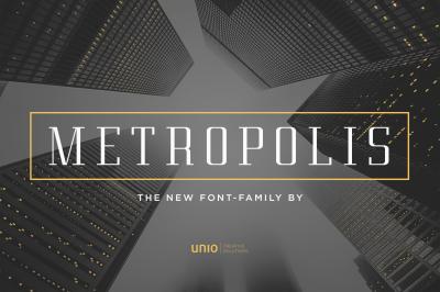 Metropolis - Font Family