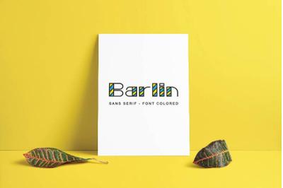 Barlin - Colored
