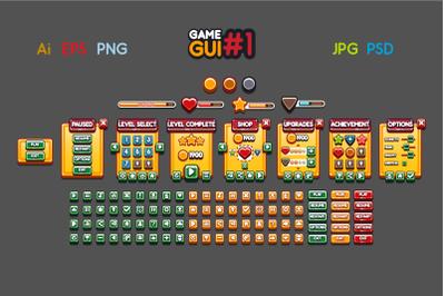 2D Game GUI #1