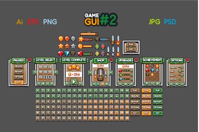 2D Game GUI #2