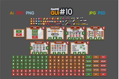 2D Game GUI #10