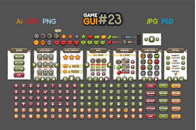 2D Game GUI #23