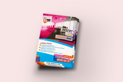 Corporate Flyer Design Template PSD