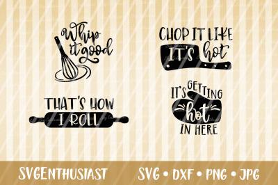 Kitchen sayings SVG bundle, Cook SVG