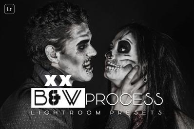 B and W Process Lightroom Presets