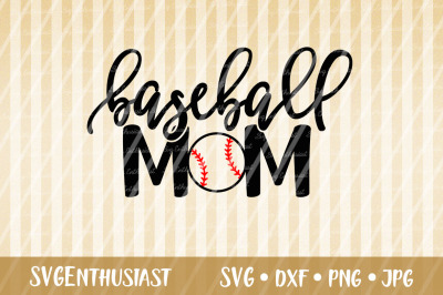 Baseball Mom SVG, Sport SVG