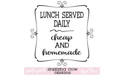 lunch served daily