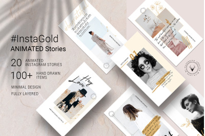 #InstaGold - Elegant Animated Instagram Stories
