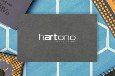 Hartono Techno Font