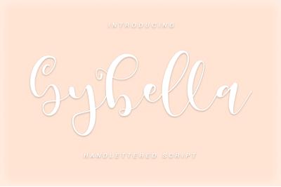 Gybella///Script font