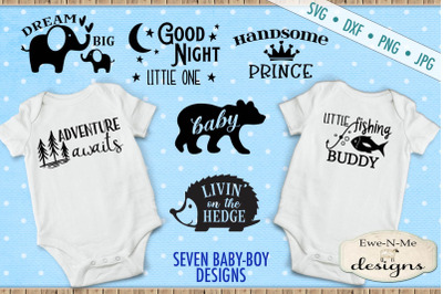 Baby Boy SVG Bundle - Great For Onesies