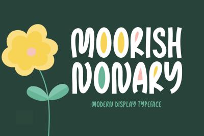 Moorish Nonary Typeface